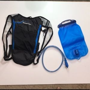 Mubasel Gear Insulated Hydration Backpack 2L New